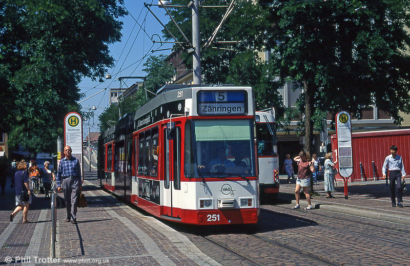 Freiburg 253 at Stadttheater in August 1995.