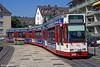 New Freiburg low floor car 246 at Hornustrasse in August 1995.