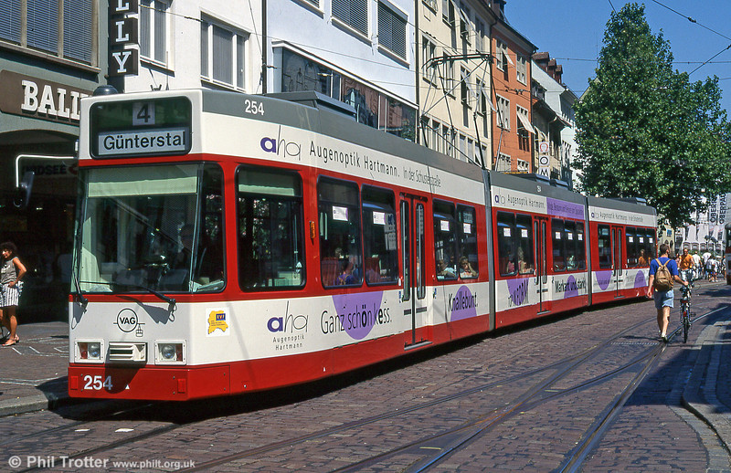 Freiburg 254 in the City Centre in August 1995.