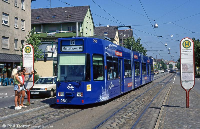Freiburg 260 at Hornustrasse in August 1995.