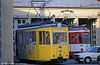 Freiburg Rastatt car 74 is that fleet's Partywagen dating from 1953. Photographed at Komturstrasse Depot on 2nd August 1993.