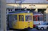 Freiburg Rastatt car 74 is that fleet's Partywagen dating from 1953. Photographed at Komturstrasse Depot on 2nd August 1993.