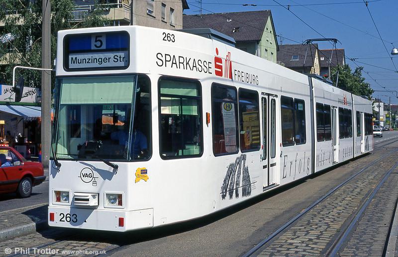 Freiburg 263 at Hornustrasse in August 1995.