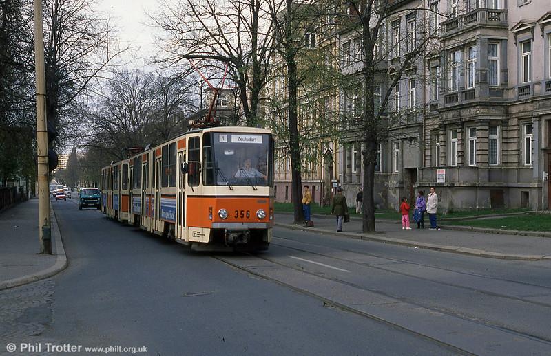 Gera 356 near the Hauptbahnhof.