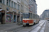 Gorlitz 006, a Tatra KT4D at Berliner Strasse on 7th April 1991.