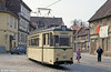 Halberstadt 37 of 1957 at Vogtei on 12th April 1993. Although much of Halberstadt was destroyed during World War II, some historic areas survived and since reunification, many of the buildings have been restored.