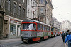Tatra T4D 953 near Marktplatz on 13th April 1993.