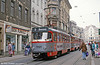 Tatra T4D 1203 near Marktplatz on 13th April 1993.