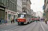 Tatra T4D 1040 near Marktplatz on 13th April 1993.
