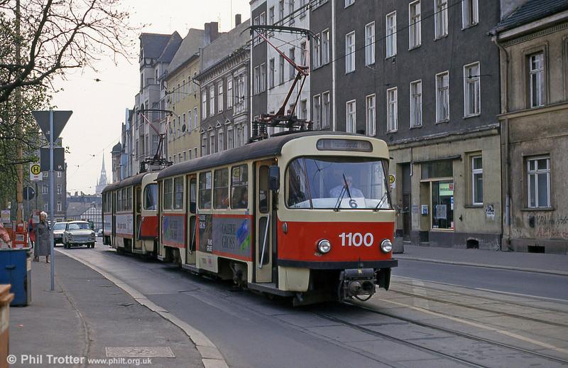 Tatra T4D 1100 at Steintor on 13th April 1993.