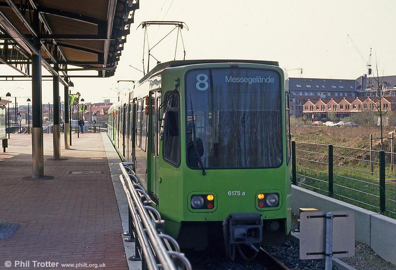 Hannover 6175 at Langenhagen on 9th April 1993.