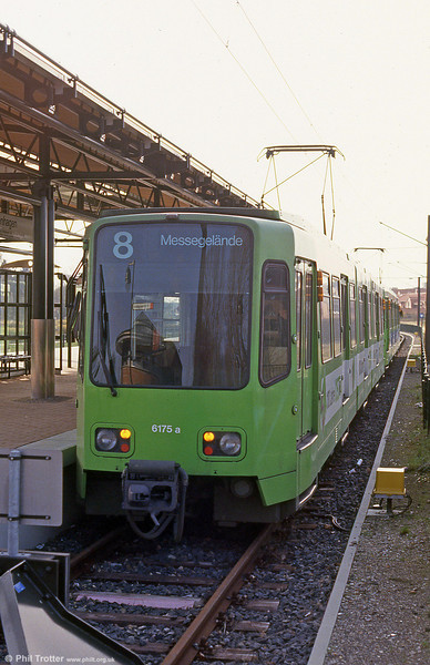 Hannover 6175 at Langenhagen on 9th April 1993.