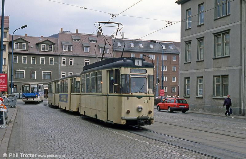 Jena REKO 016 seen in Lobdergraben.