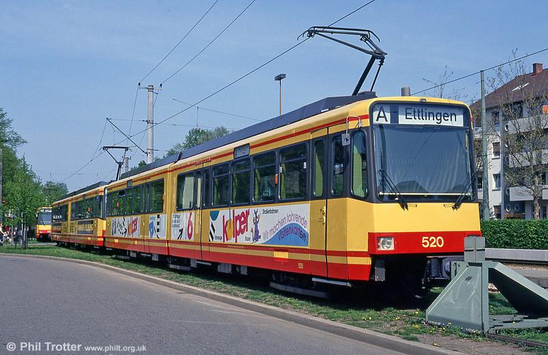 Car 520 at Ettlingen on 22nd April 1993.