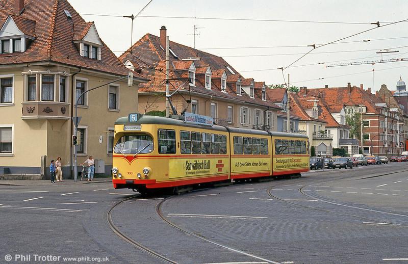 Karlsruhe 188 at Yorckstrasse on 22nd April 1993.