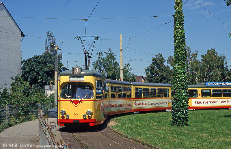 Car 179 at Rintheim on 2nd August 1993.