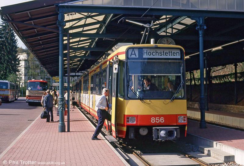 Car 856 at Bad Herrenalb on 22nd April 1993.