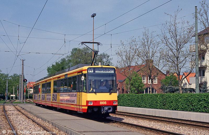 Car 866 at Ettlingen on 22nd April 1993.