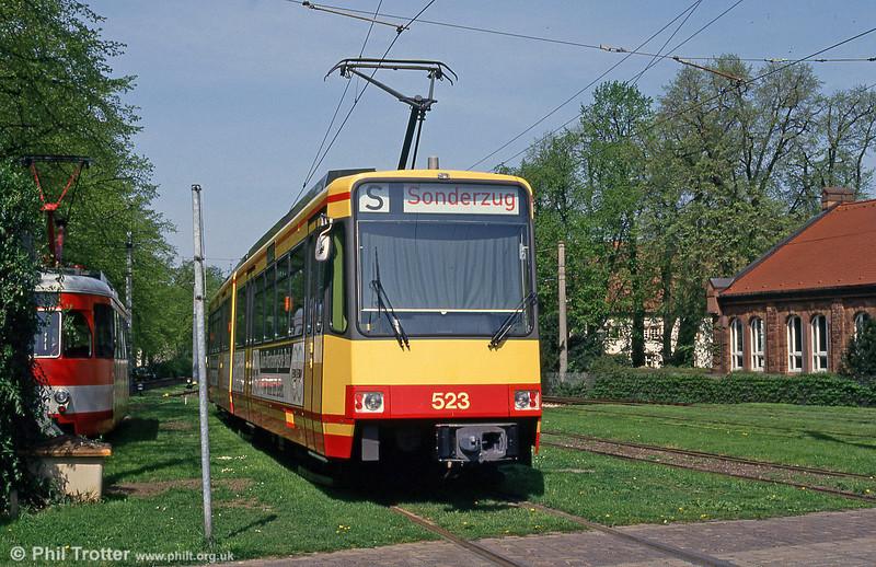 Car 523 at Ettlingen on 22nd April 1993.