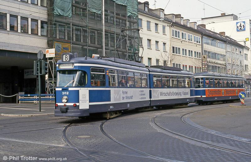 Car 362 at Rathaus on 10th April 1993.
