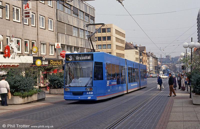 Kassel 462 at Am Stern on 10th April 1993.