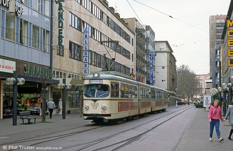 RHB 1014 in Ludwigshafen on 3rd April 1991.