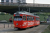 Ludwigshafen 133 at Berliner Platz on 3rd April 1991.