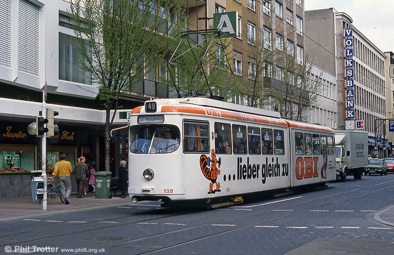 Ludwigshafen 138 on 3rd April 1991.