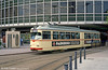 Ludwigshafen 147 at Berliner Platz on 3rd April 1991.