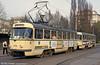 T4D 1158 near the Hauptbahnhof on 12th April, 1993.