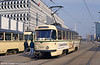 Tatra T4D 1084 at Alter Markt on 12th April 1993.