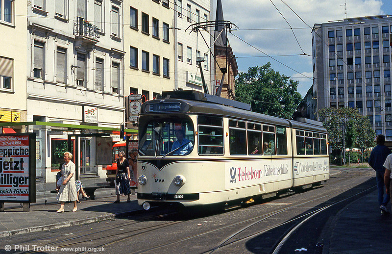 Mannheim 458 at Tattersall on 1st August 1993.