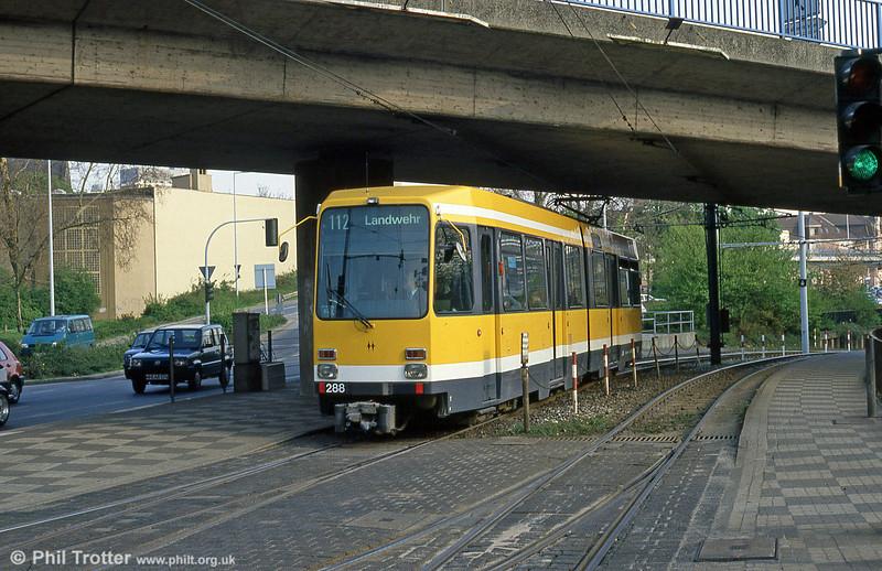 Mulheim 288 at Friedrich-Ebert-Str on 19th April 1994.