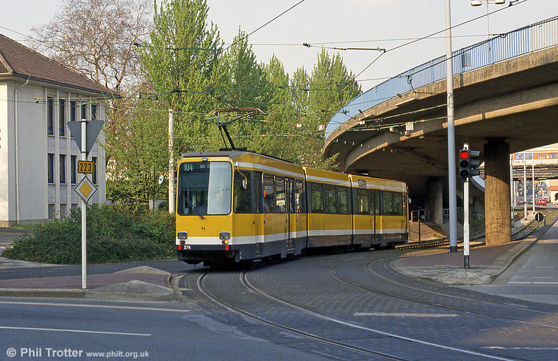 Mulheim 274 at Friedrich-Ebert-Str on 19th April 1994.
