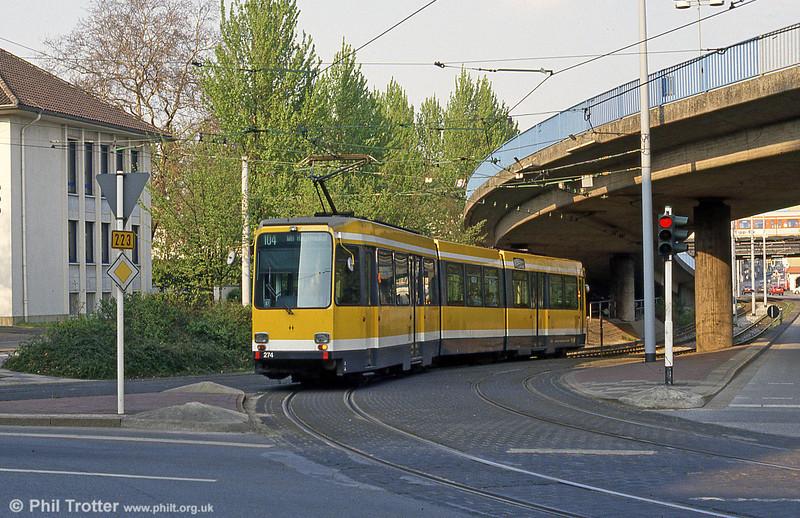 Mulheim 274 at Friedrich-Ebert-Str on 19th April 1994.