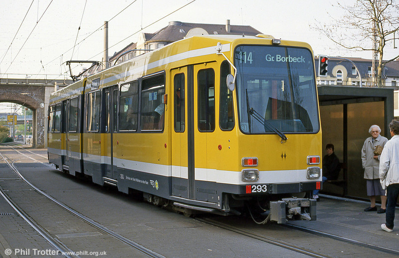 Mulheim 293 at Friedrich-Ebert-Str on 19th April 1994.