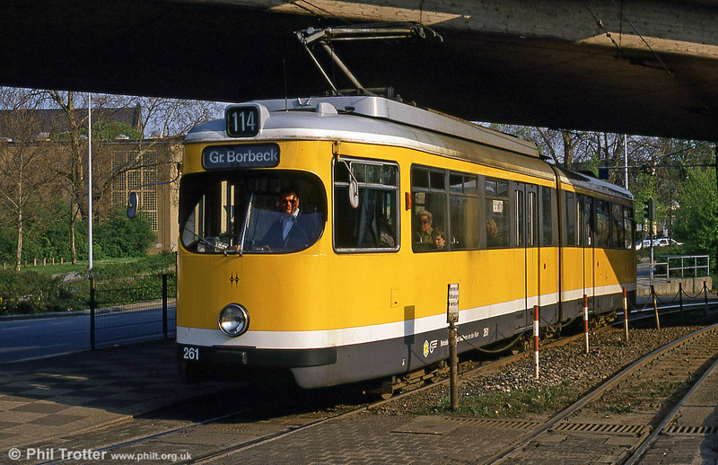 Mulheim 261 at Friedrich-Ebert-Str on 19th April 1994.