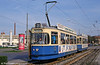 Munich Rathgeber car 2601 at Hanauer Strasse on 20th April 1993.