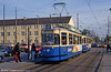Munich Rathgeber car 2448 at Leonrodplatz on 20th April 1993.