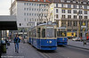 Munich Rathgeber car 2431 at the Hauptbahnhof on 20th April 1993.