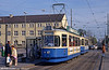 Munich Rathgeber car 2515 at Leonrodplatz on 20th April 1993.