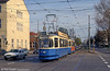 Munich Rathgeber car 2517 at Leonrodplatz on 20th April 1993.