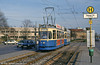 Munich Rathgeber car 2494 at Hanauer Strasse on 20th April 1993.