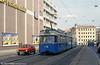 Munich Rathgeber car 2040 at the Hauptbahnhof on 20th April 1993.