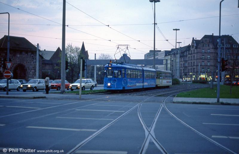 Nürnberg 348 at Plarrer on 4th April 1991.