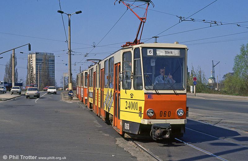 Potsdam 060 at Langen Brücke on 11th April 1991.
