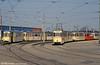 A view of the depot yard at Hamburger Strasse on 14th April 1993.