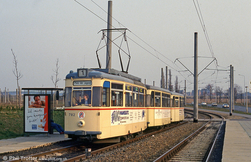 Gotha car 782 at Baulager on 14th April 1993.