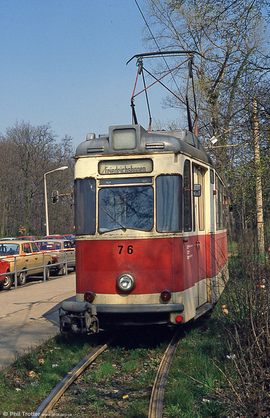 Schoneiche 76 at Friedrichshagen on 10th April 1991.