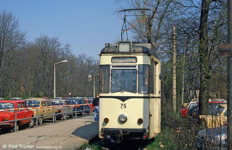 Schoneiche 75 at Friedrichshagen on 10th April 1991.